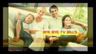 Bye Bye TV Bills free to air satellite in Ireland