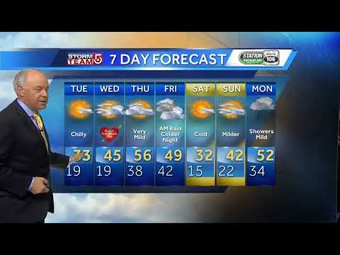 Video: Surge of warmth on the way
