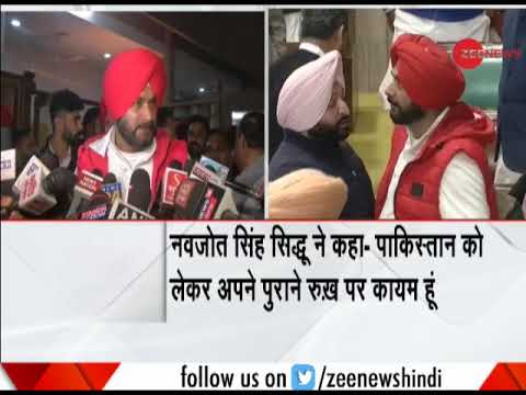 Navjot Singh Sidhu still stands by his statement over Pulwama attack