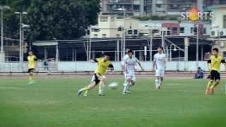 第三十七屆澳門學界足球比賽決賽﹣粵華VS培華