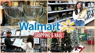 WALMART SHOP WITH ME & HAUL! CHRISTMAS DECOR!
