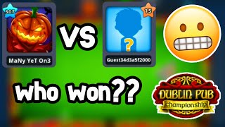 lvl 307 vs lvl 15 (New Table) • 8 ball pool