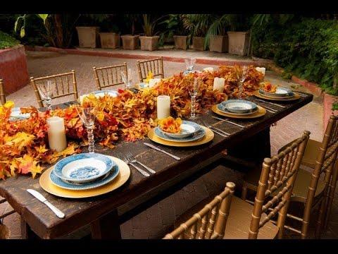 Attirant Autumn Table Decorations Centerpieces