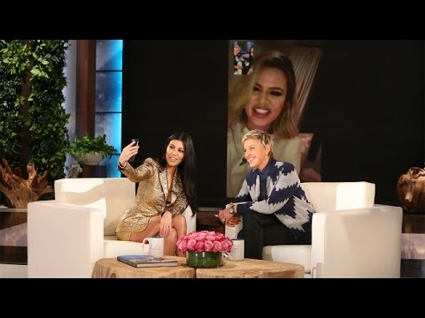 Ellen Keeps Up with Kourtney Kardashian