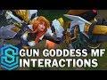 Gun Goddess Miss Fortune Special Interactions