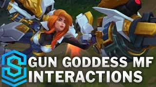Gun Goddess Miss Fortune Special Interactions