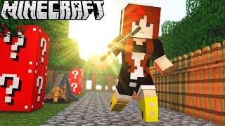 SORTE OU AZAR? - HARDCORE LUCKY BLOCK #1 | Minecraft
