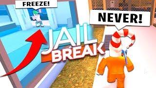 Scary Prison Escape (Roblox Jailbreak)