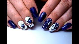 Самый Крутой Зимний Дизайн Ногтей | The Coolest Winter Nail Design