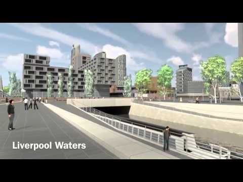 Future Liverpool exclusive: Peel's Wirral Waters, International Trade Centre, Liverpool Waters 2013.
