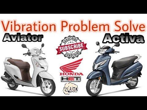 Hona All Scooty Solution Vibration Problem YouTube - Auto hona