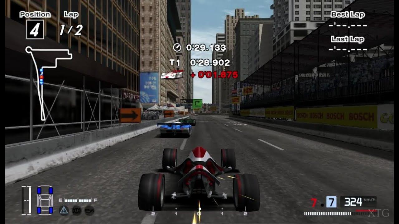 Gran Turismo 4 - Nike ONE 2022 (Body Swap) PS2 Gameplay HD