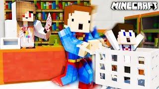 DZIEWCZYNA MORDERCA W SKLEPIE!!!! - Minecraft Murder Mystery