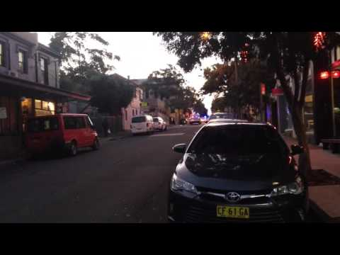 NSW Police - Newtown 14, 15 And 17 Responding