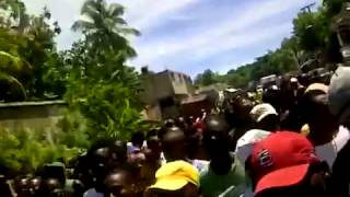 Anti-Martelly manifestation 24 Septanm 2014