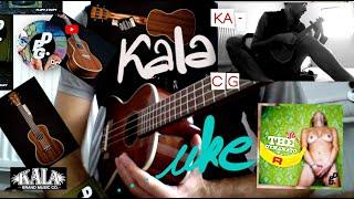 Kala KA-CG Concert Ukulele Demo & Set up (2019)