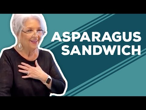 asparagus grill sandwiches