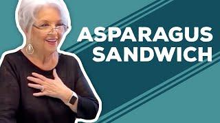 Quarantine Cooking - Asparagus Sandwich