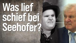 Was lief schief im Leben von Horst Seehofer