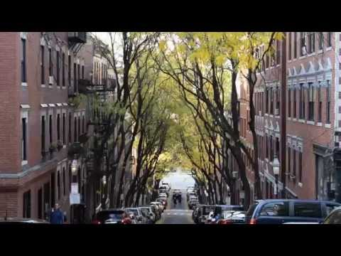 Historic Beacon Hill Streets Of Boston And Rowhouses