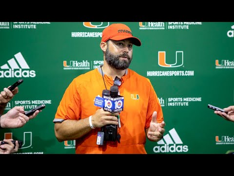 University Of Miami Football Defensive Coordinator On The Defense This First Year