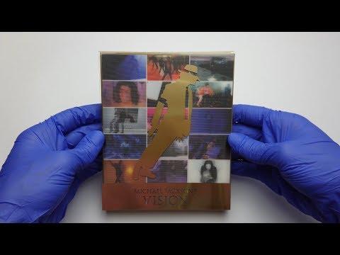 Michael Jackson - Michael Jackson's Vision DVD 2010 Unboxing 4K | MJ Unboxing