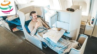 Boeing 747-400 Upperdeck in der British Airways Business Class | YourTravel.TV
