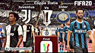 FIFA 20 Finale Juventus Vs Inter Coppa Italia
