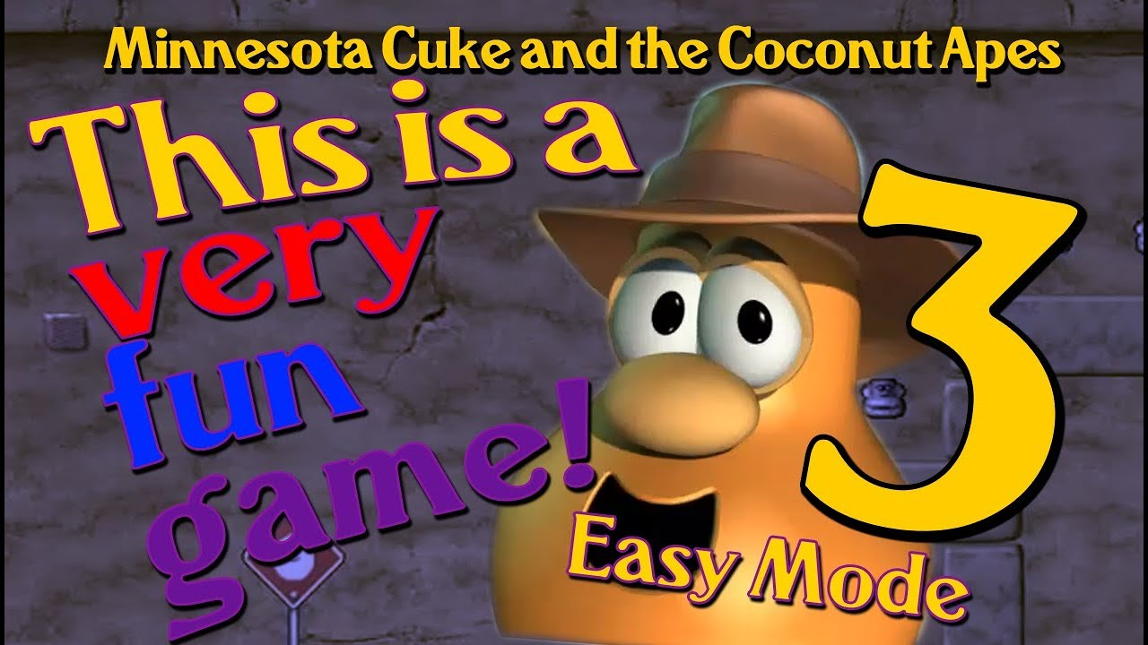 THIS IS A VERY FUN GAME! 😁😸🐵😄😃   Minnesota Cuke and the Coconut Apes (EASY MODE)