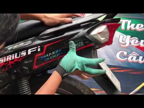 dán tem xe sirius FI  - sticker Yamaha Vega Force 2016 phần 1
