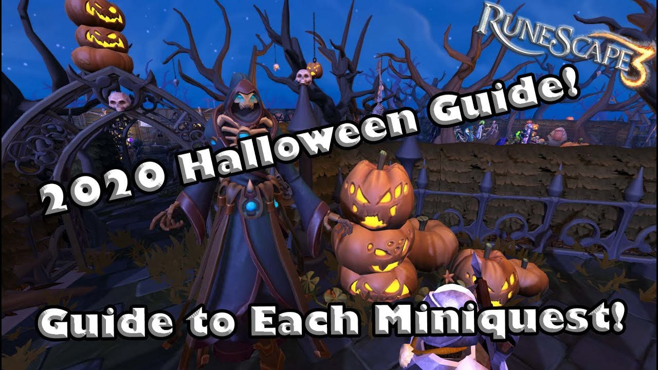 Runescape Halloween 2020 Events RS3 2020 Halloween Event Guide   Complete Guide for Each Miniquest