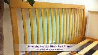 Limelight Ananke Birch Bed Frame