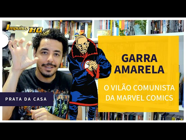 A Garras do Comunismo Amarelo da Marvel Comics
