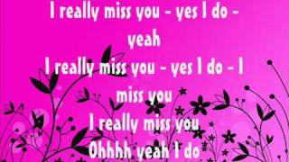 S Club 7   I really miss you lyrics