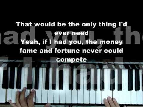B.o.B ft. Hayley Williams ft. Adam Lambert -- Airplanes   If I Had You Piano Mash-up