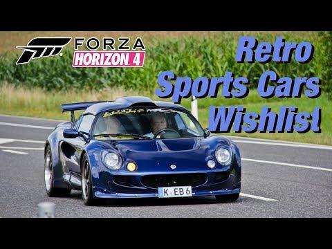 forza-horizon-4:-car-wishlist-#4- -classic-&-retro-sports-cars