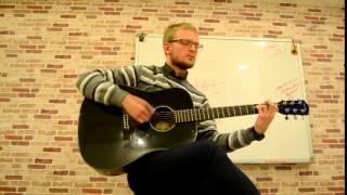Илья. Обучающийся в Школе Express обучение игре на гитаре.