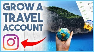 😋 HOW TO GROW A TRAVEL PAGE ON INSTAGRAM - THE NICHE PROJECT #1 😋