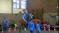 20110206 Team Duisburg 3 beim Holzpferdeturnier des RVV Equus
