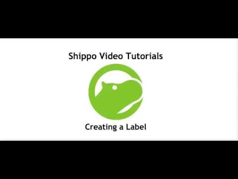 Creating a Label [Shippo Video Tutorial #2]