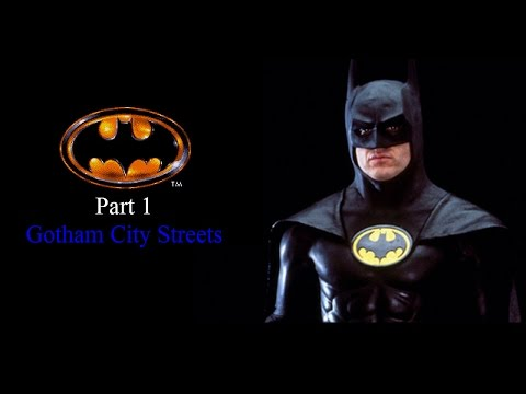 Let's Play Batman (Sega Genesis) - Gotham City Streets