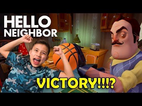 TAKE THIS BASKETBALL!!! Hello Neighbor Basement Discovery!