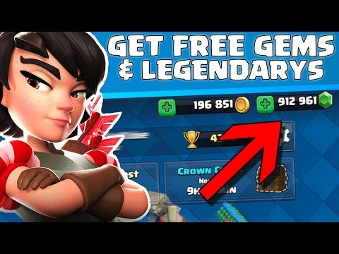 HOW TO GET FREE GEMS! - Clash Royale - No Hacks OR Cheats!
