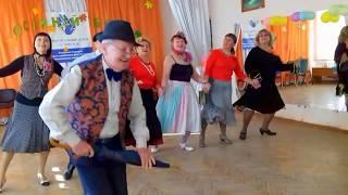 Это школа Соломона Пляра. Шуточный танец про урок танцев.