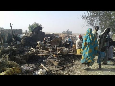 Nigerian air strike 'mistake' leaves 50 dead in refugee camp
