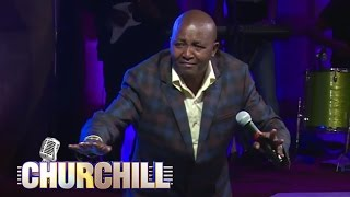Man Kush Churchill show; Parents Beware what you say and wear before your children