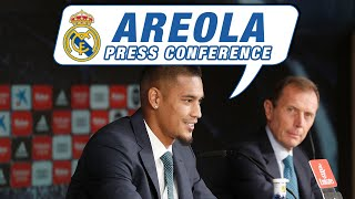 LIVE | Alphonse Areola's first Real Madrid press conference!