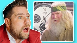 Watch Expert Reacts: Veteran Finds Extremely Rare Rolex