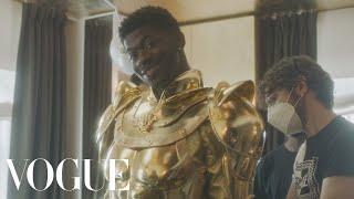 Behind Lil Nas X's Royal Met Gala Looks | Vogue