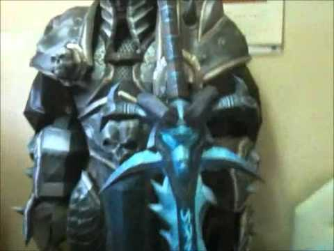 Papercraft The Lich King Paper Model (Papercraft)